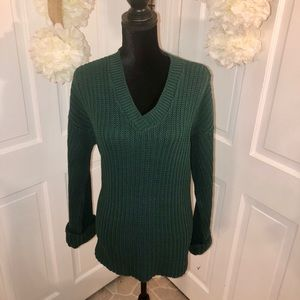 Women's V Neckline Sweater
